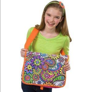 ALEX DIY Color A Flower Craft Messenger Bag